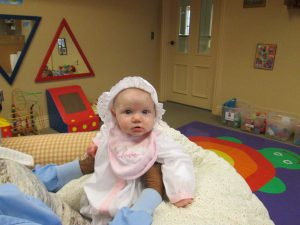 Our babies enjoy the nursery and fabulous childcare.