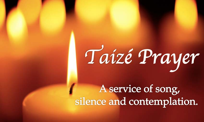 Image result for taize service""